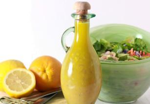 Slani preliv za salatu od citrusa