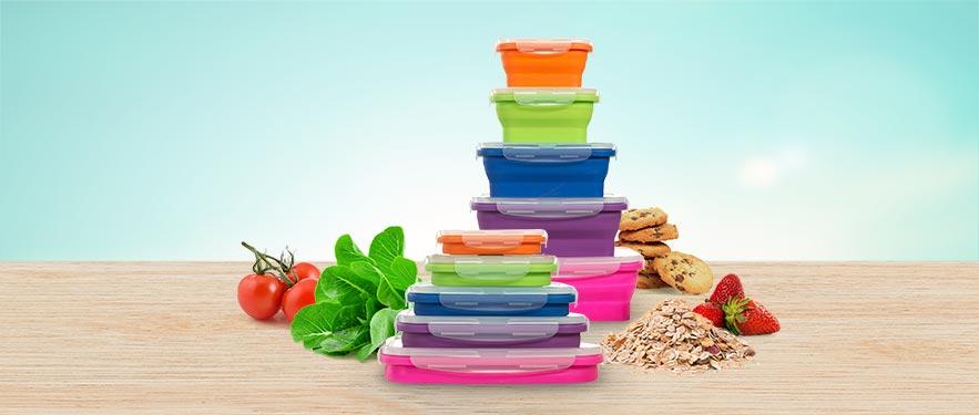 Brava Cooltops - set posuda za odlaganje hrane